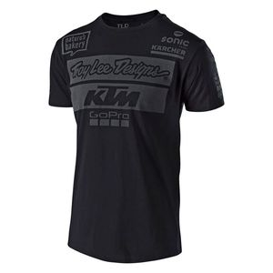 T-Shirt manches courtes TLD KTM TEAM TEE NAVY  Black