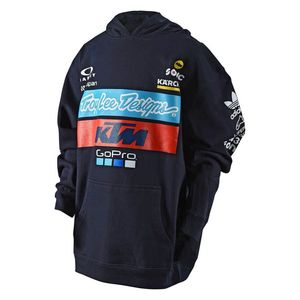 Sweat TLD KTM TEAM YOUTH PULLOVER FLEECE NAVY  Blue / White