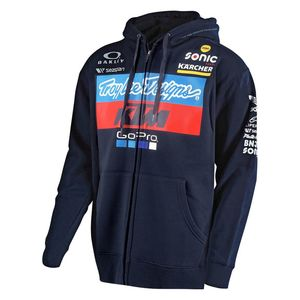 Veste TLD KTM TEAM ZIPUP FLEECE - NAVY  Blue / White