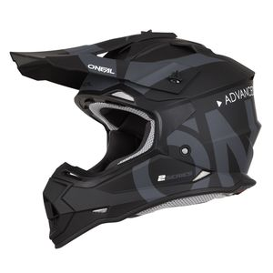 Casque Cross O'neal 2 Series Rl - Slick - Black Gray 2019