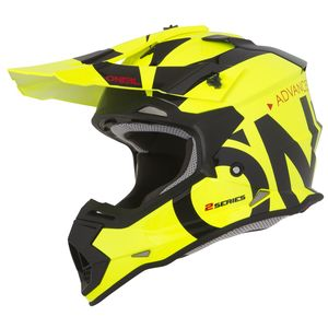 Casque Cross O'neal 2 Series Rl Youth - Slick - Neon Yellow Black 2019