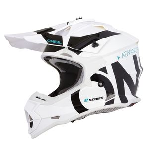 Casque Cross O'neal 2 Series Rl Youth - Slick - White Black 2019