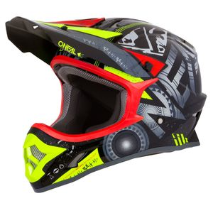 Casque cross 3 SERIES - HELIUM - RED 2019 Red