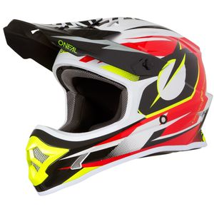 Casque Cross O'neal 3 Series - Riff - Red 2019