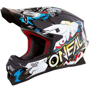 Casque Cross O'neal 3 Series - Villain - White 2019