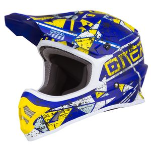 Casque cross 3 SERIES - ZEN - BLUE 2019 Blue