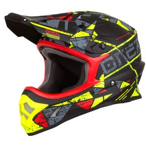 Casque Cross O'neal 3 Series - Zen - Neon Yellow 2019