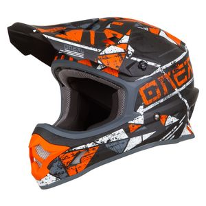 Casque cross 3 SERIES - ZEN - ORANGE 2019 Orange