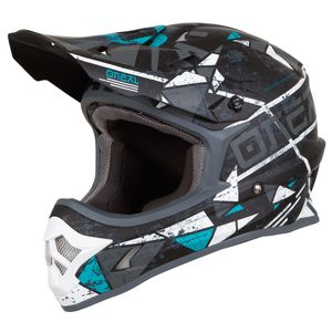 Casque cross 3 SERIES - ZEN - TEAL 2019 Teal