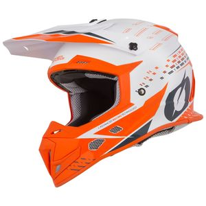 Casque Cross O'neal 5 Series - Trace - White Orange 2019