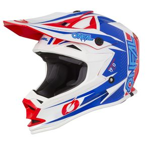 Casque Cross O'neal 7 Series - Strain - Blue Red 2019
