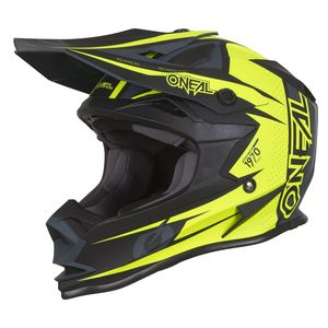 Casque cross 7 SERIES - STRAIN - NEON YELLOW 2019 Neon Yellow