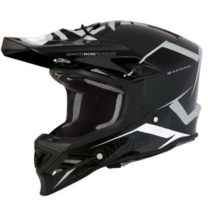 Casque Cross O'neal 8 Series - Blizzard - Black Gray 2019