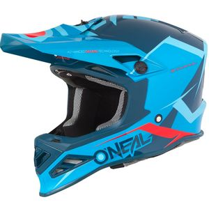 Casque Cross O'neal 8 Series - Blizzard - Blue 2019