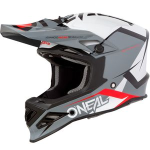 Casque Cross O'neal 8 Series - Blizzard - Gray 2019