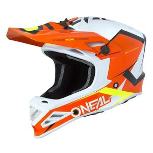 Casque Cross O'neal 8 Series - Blizzard - Orange 2019