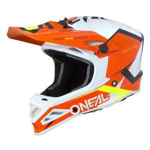 Casque Cross O'neal 8 Series Youth- Blizzard - Orange 2019