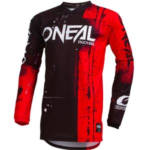 Maillot Cross O'neal Element Youth - Shred - Red 2019