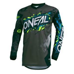 Maillot Cross O'neal Element Youth - Villain - Gray 2019