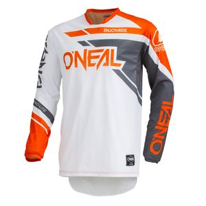 Maillot Cross O'neal Hardwear - Rizer - Gray Orange 2019
