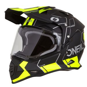 Casque cross SIERRA II - COMB - BLACK NEON YELLOW MATT  Black Neon Yellow