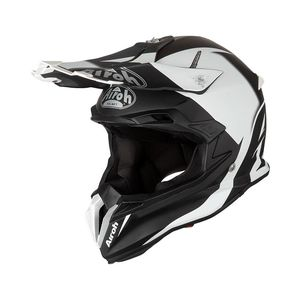 Casque cross TERMINATOR OPEN VISION - SLIDER - BLACK MATT 2020 Noir/Blanc