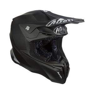 Casque cross TWIST -  COLOR  - BLACK MATT 2019 Noir