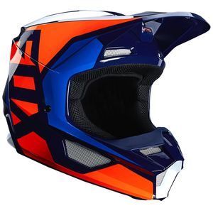 Casque cross V1 - LOVL - ORANGE BLUE 2020 Orange Blue