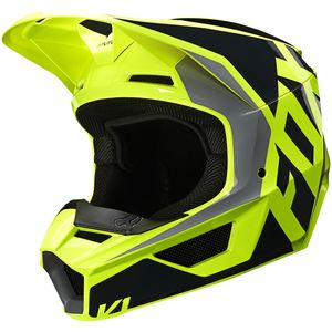 Casque cross V1 - LOVL - YELLOW FLUO 2020 Yellow Fluo