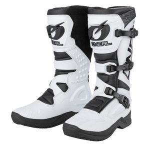 Bottes cross RSX  - WHITE BLACK 2021 White