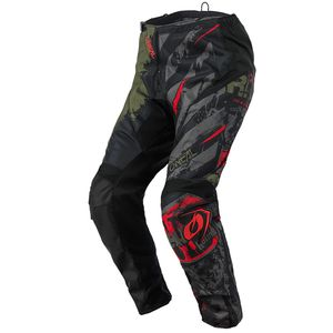 Pantalon cross ELEMENT - RIDE - BLACK GREEN 2021 Black/Green