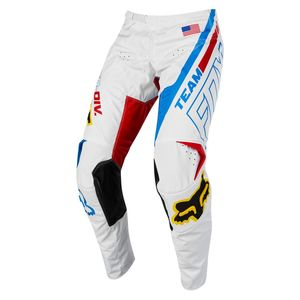 Pantalon Cross Fox 180 - Special Edition - White Red Blue 2018