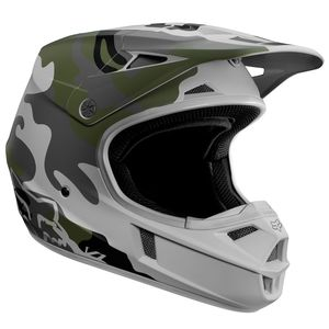 Casque cross V1 SD SPECIAL EDITION GREEN ENFANT  Vert
