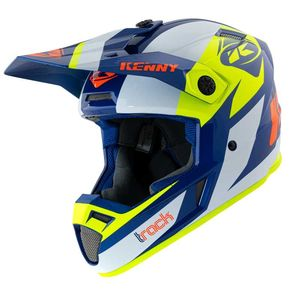 Casque cross TRACK - GRAPHIC - NAVY NEON YELLOW 2021 Navy Neon Yellow