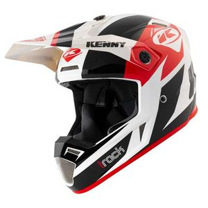 Casque cross TRACK - GRAPHIC - BLACK RED 2021 Black Red
