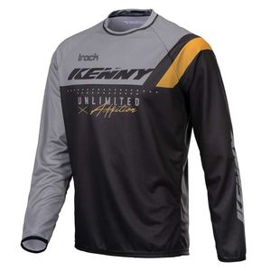 Maillot cross TRACK - FOCUS - BLACK GREY GOLD 2021 Black Grey Gold