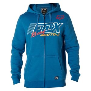 Sweat FLECTION ZIP FLEECE  Dusty Blue