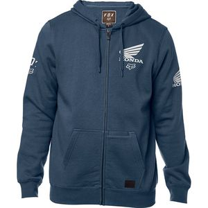 Sweat HONDA ZIP  Navy