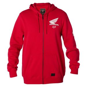 Veste HONDA ZIP FLEECE  Dark Red