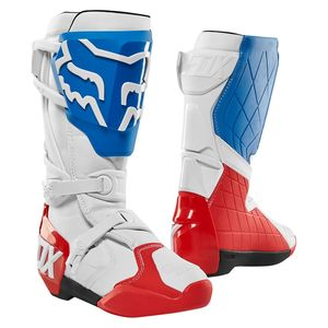 Bottes Cross Fox 180 - Limited Edition - White Red Blue 2018