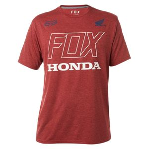 T-Shirt manches courtes HONDA SS TECH TEE  Dark Red