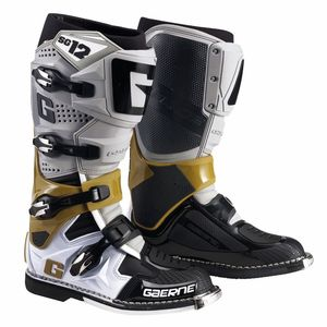 Bottes cross SG12 GREY / MAGNESIUM / WHITE 2021 Gris/Blanc