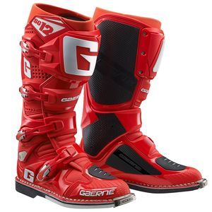 Bottes cross SG12 SOLID RED 2021 Rouge