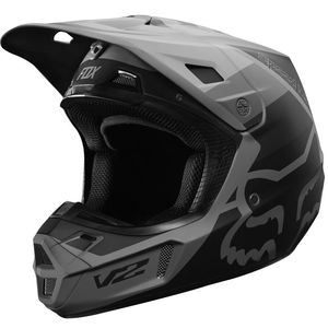 Casque Cross Fox V2 - Murc - Black 2019