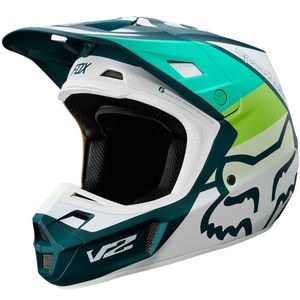 Casque Cross Fox V2 - Murc - Green 2019