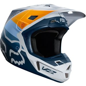 Casque Cross Fox V2 - Murc - Light Grey 2019