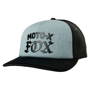 Casquette MOTO-X  Heather Graphite