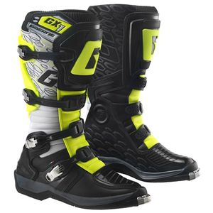 Bottes cross GX-1 EVO WHITE YELLOW BLACK 2018 Blanc Noir Jaune Fluo