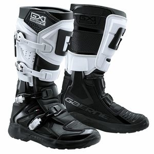 Bottes cross GX1 EVO - BLACK WHITE 2021 Noir/Blanc