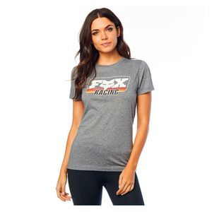 T-Shirt manches courtes RETRO FOX  Heather Graphite